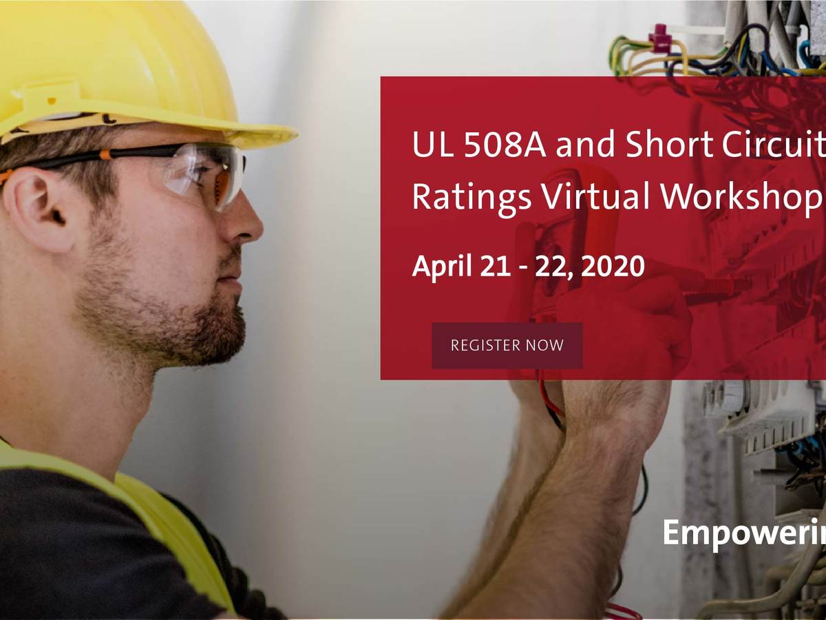 UL 508A Virtual Workshop
